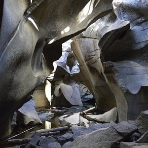 inside the ice caves