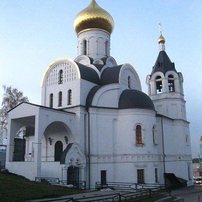 вид церкви