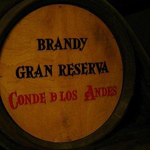 Brandy from Diez Merito Wine Cellar