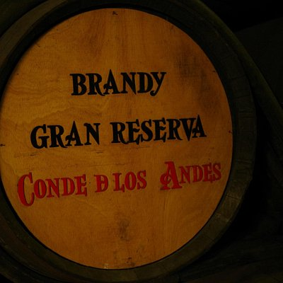 Brandy from Diez Merito Wine Cellar