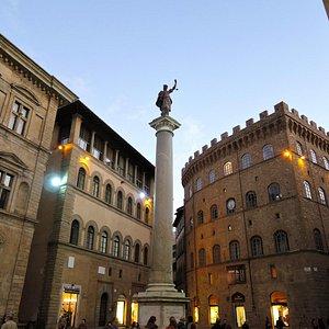 Via de Tornabuoni - Begins here on Piazza di Santa Trinita