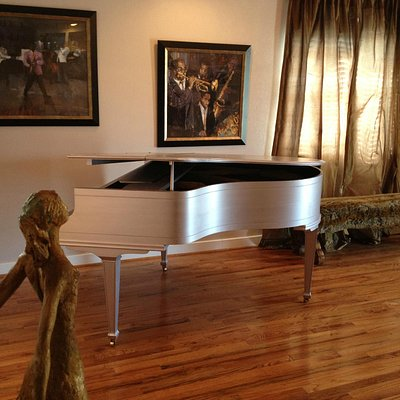 Baby Grand in the Lobby