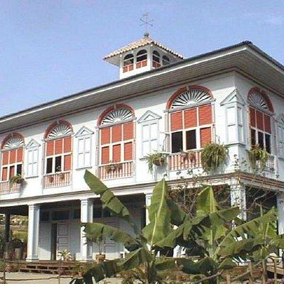 Casa Hacienda San Juan (1882), en la zona de tradiciones.