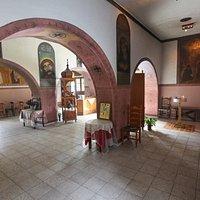 Το εσωτερικό της εκκλησίας