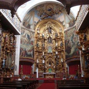 Vista geral da Igreja