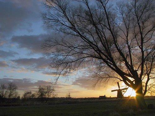 Sunset in Twiske