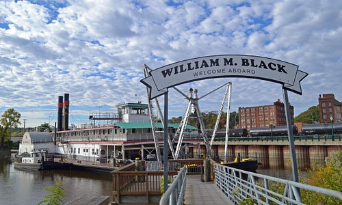 Entrance to the William M. Black Dredge Boat