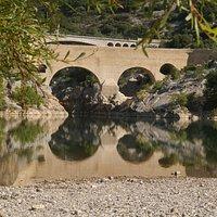 Le pont du Diable, classé Patrimoine Mondial à l'UNESCO