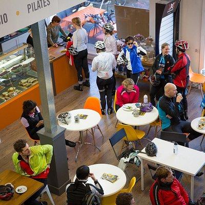 Cyclist Cafe