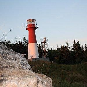 Cape Spencer Lighthouse.