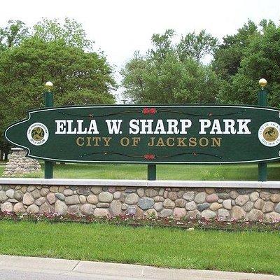 Ella Sharp Park Sign