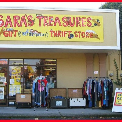 S.A.R.A.'s Treasures is located at 871 River Road in Eugene