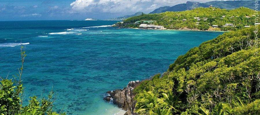 Панорама с острова