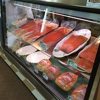 Smoked salmon and deli meats