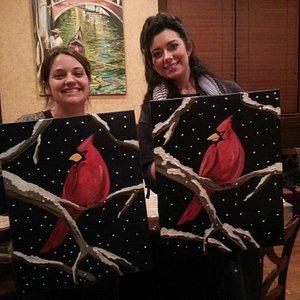 Cardinal Painting Fall of 2013