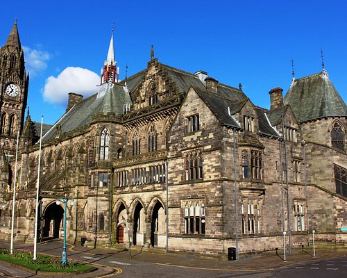 Rochdale Town Hall exterior