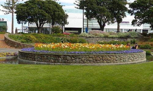 Flowerbeds at Sunken Garden