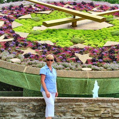 Floral Clock in July 2014