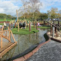 Excellent Crazy golf course-well worth a visit
