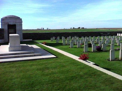 Ce cimetière a été créé en 1917