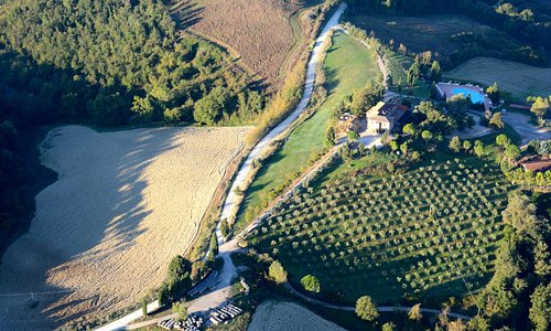Over Tuscany
