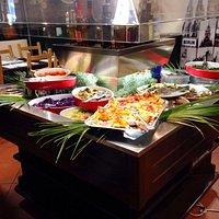 Il buffet per iniziare.....delizioso!!