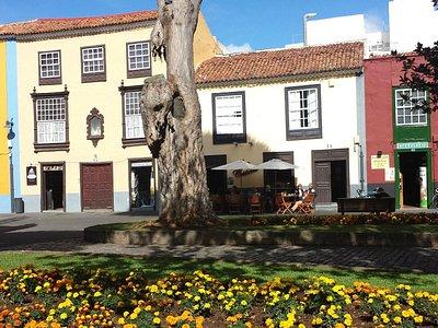 Kleiner Platz in La Laguna