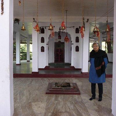 Temple preimises