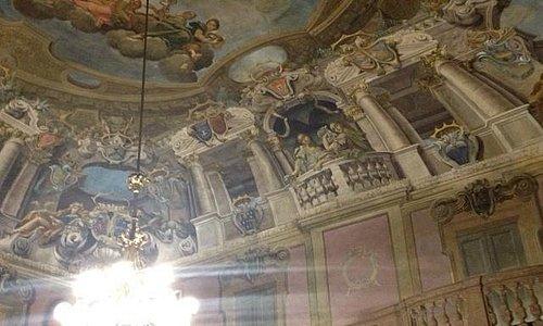 sala dei cardinali Collegio San Carlo