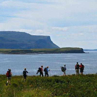 Walking on the Isle of Mull, Scotland