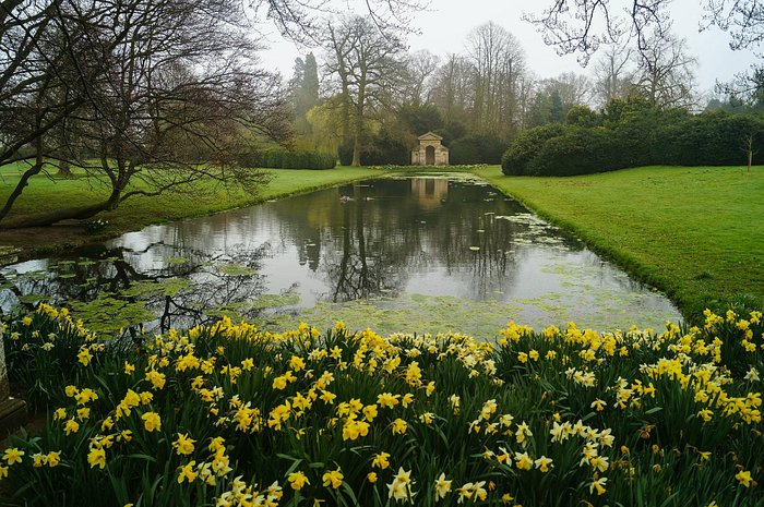 Spring Gardens at Belton House (NT) Stamford Lincs