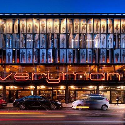 Everyman Theatre Exterior (c) Philip Vile