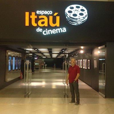 Hall de entrada do cinema