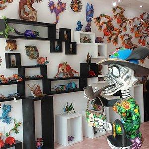 Arte popular mexicano , maxima ....que es llevada en esa Galeria