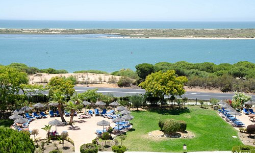 Grounds at the Playacartaya Spa Hotel