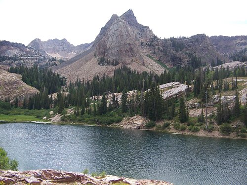 Lake Blanche and Sundial Peak