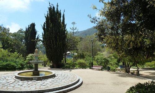 Am Park gelegen