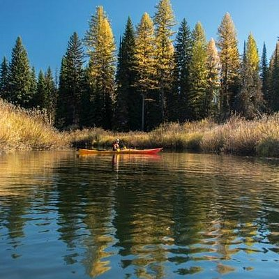 paddling the clearwater canoe trail