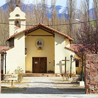 Linda igreja em Uspallata