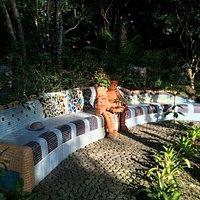 Secret Art Garden Mosaic garden