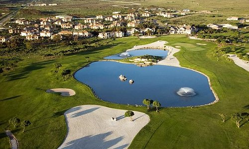 Langebaan Country Estate's 18-hole Gary Player Design's Black Knight golf course.