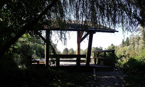 Picnic area at Discovery Trail