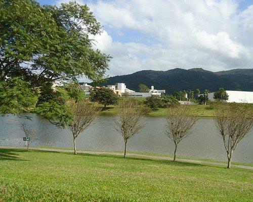 Lago na parte central da Pedra Branca