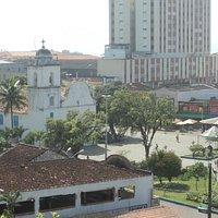 Vista da praça desde o Convento Nossa Senhora da Conceição