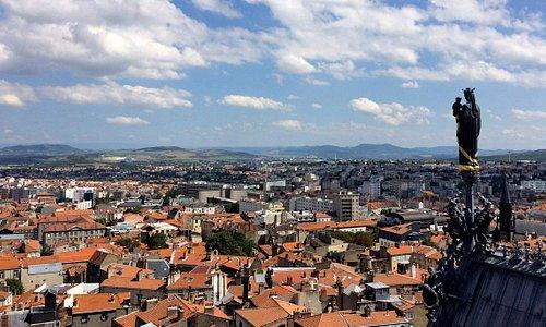 Vista o alto da catedral