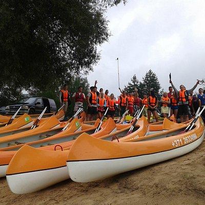 Canoe trips for groups