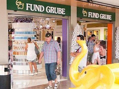 Fund Grube Las Palmeras en Corralejo, Fuerteventura