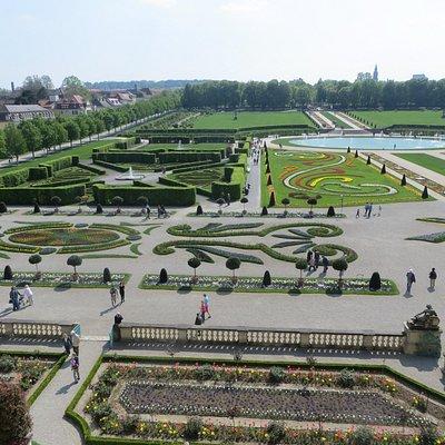 Blick aus dem Schlossfenster