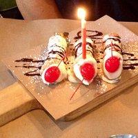 Canoli to celebrate birthday!!