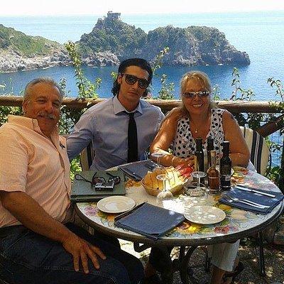 Lunch in Amalfi Coast
